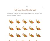fall counting to twenty