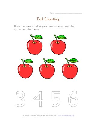 fall counting to five