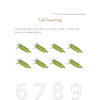 fall counting to eight