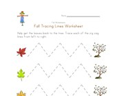 fall fine motor skills worksheet