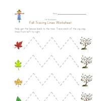 Worksheet Fine Motor Skills Worksheets fall fine motor skills worksheet all kids network