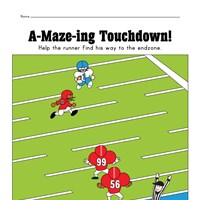 Easy Football Maze