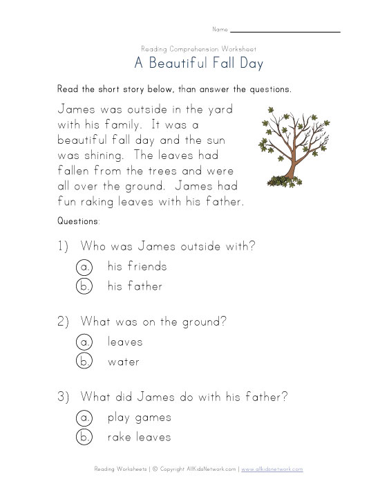 Number Names Worksheets reading exercise for kindergarten : Kindergarten Reading Worksheets Pdf - enjoy this free st patrick s ...