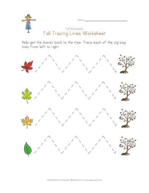 Number Names Worksheets fall worksheets : Fall Pattern Worksheets For Preschool - Intrepidpath