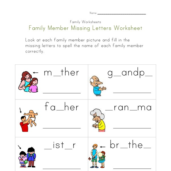 Aldiablosus  Pleasing Family Worksheets For Kids  All Kids Network With Great Teaching Kids To Write Their Name Worksheets Besides Worksheet On Singular And Plural Nouns Furthermore Shapes Worksheets Ks With Agreeable Canadian Money Worksheets Also Worksheets On Mixtures And Solutions In Addition Free Printable Third Grade Reading Comprehension Worksheets And Worksheet On Family As Well As Worksheets For English Grade  Additionally Domino Math Worksheet From Allkidsnetworkcom With Aldiablosus  Great Family Worksheets For Kids  All Kids Network With Agreeable Teaching Kids To Write Their Name Worksheets Besides Worksheet On Singular And Plural Nouns Furthermore Shapes Worksheets Ks And Pleasing Canadian Money Worksheets Also Worksheets On Mixtures And Solutions In Addition Free Printable Third Grade Reading Comprehension Worksheets From Allkidsnetworkcom