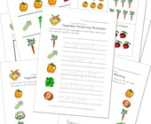 vegetable worksheets