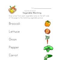 vegetable worksheets all kids network. Black Bedroom Furniture Sets. Home Design Ideas