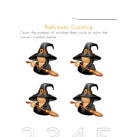 halloween counting to four