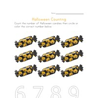 halloween counting to nine