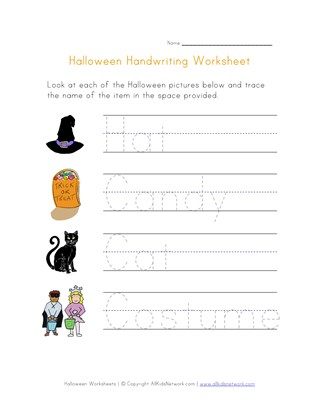 35 Awesome Halloween Worksheets All Kids Network