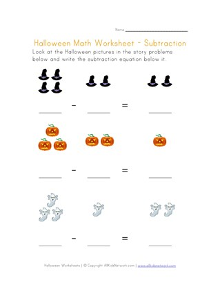 awesome halloween worksheets  all kids network