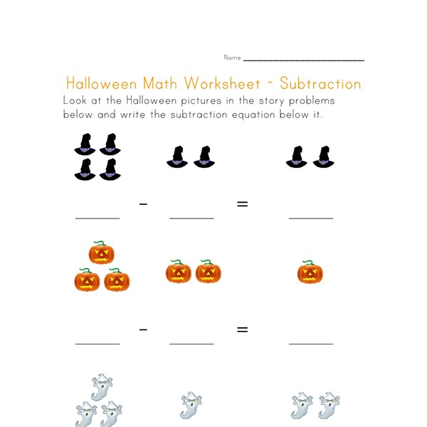 Number Names Worksheets fun subtraction worksheet Free – Fun Subtraction Worksheet
