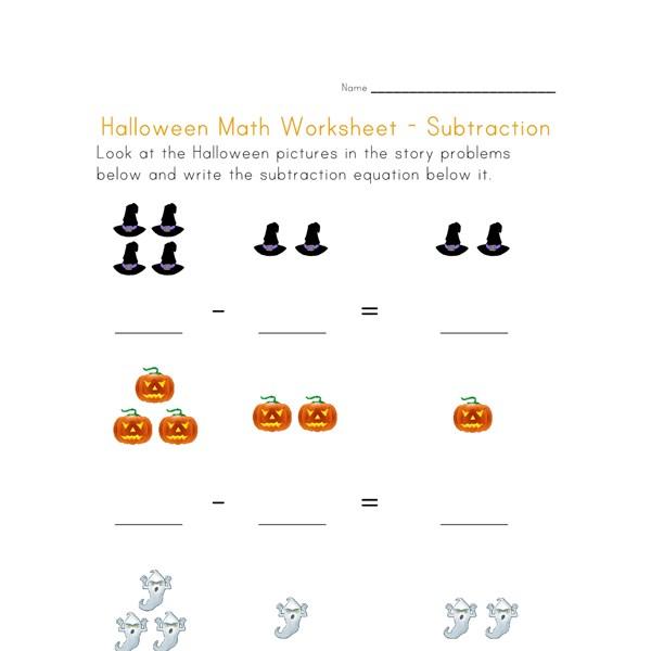 Fun Halloween Subtraction Worksheets Halloween Comstume – Halloween Subtraction Worksheets