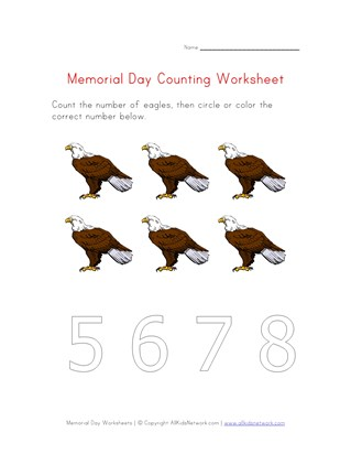 memorial day counting six
