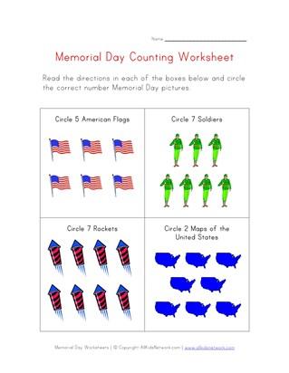Memorial Day Handwriting Worksheet- Free Printable | Improving ...
