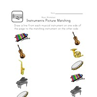 13+ Printable Music Worksheets for Kids | All Kids Network