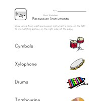 Worksheets Instrument Worksheets For Preschool printable music worksheets for kids all network