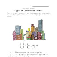 Printables Communities Worksheets community worksheets all kids network