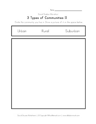 what community do you live in?