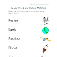 Worksheets Space Worksheets space worksheets all kids network