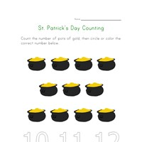 saint patricks day count to eleven