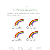 saint patricks day count to four