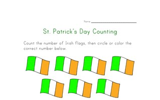 saint patricks day count to fourteen