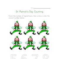 saint patricks day count to six