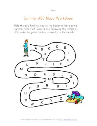 35+ Free Summer Worksheets | All Kids Network