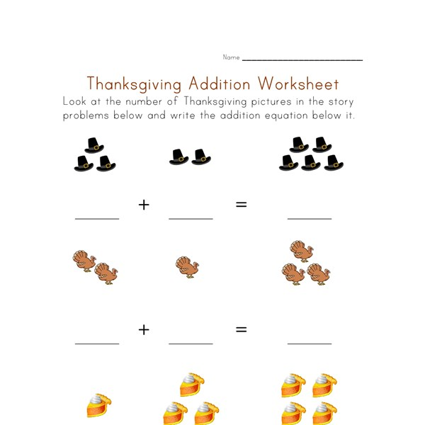 Thanksgiving Math Worksheets For Kindergarten fall number – Thanksgiving Math Worksheets for Kindergarten