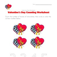 valentines day counting 4