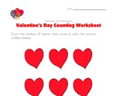 valentines day counting 6