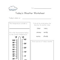 Printables Weather Worksheets For Kids weather worksheets for kids all network