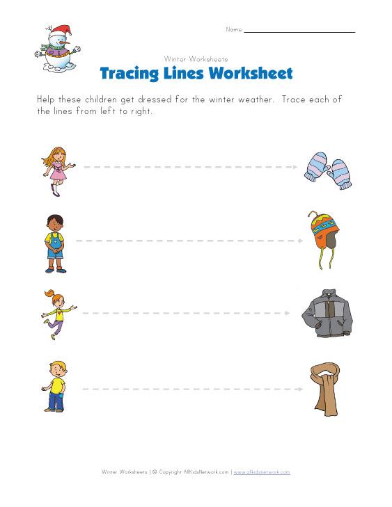 Free Worksheets » Kindergarten Winter Worksheets - Free Printable ...