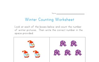 winter counting practice