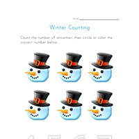 winter counting to six