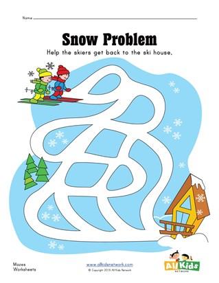 Winter Worksheets for Kids | All Kids Network