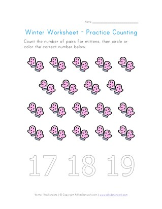 Winter Worksheets For Kids All Kids Network