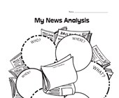 news graphic organizer