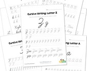 cursive writing worksheets