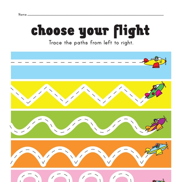 Tracing Lines Pre Writing Worksheet on Free Worksheets Phonics Christmas Math