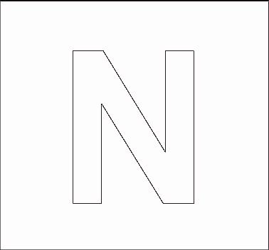 Free Printable Letter Stencils | 101ColoringPages.com