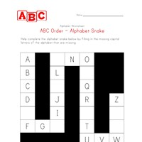 30 Awesome Alphabetical Order Worksheets ABC Order