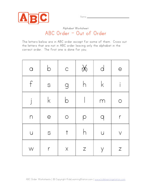 Alphabetical order homework sheets / oliveoilclasses com