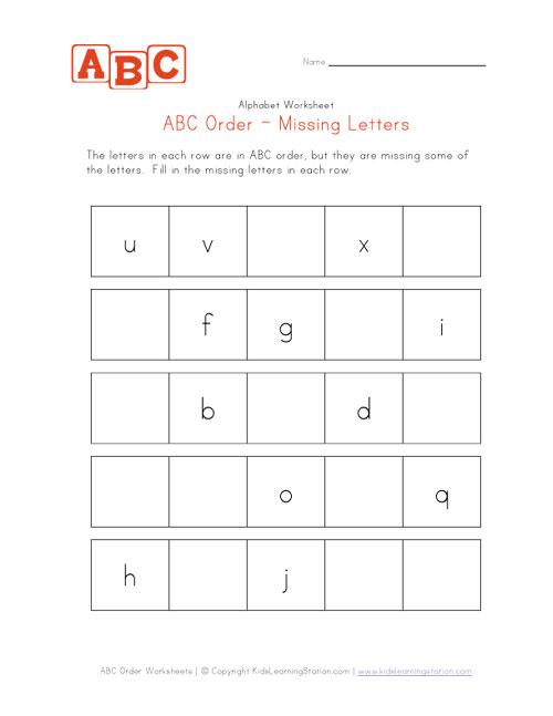 Common Worksheets Alphabetical Order Worksheets For Kids – Abc Order Worksheets Kindergarten