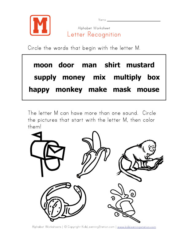 words start with letter m webmelasa letter m coloring pages 610