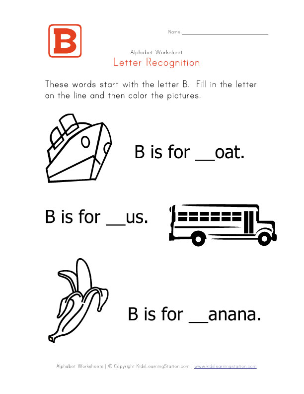 View and print your letter b worksheet