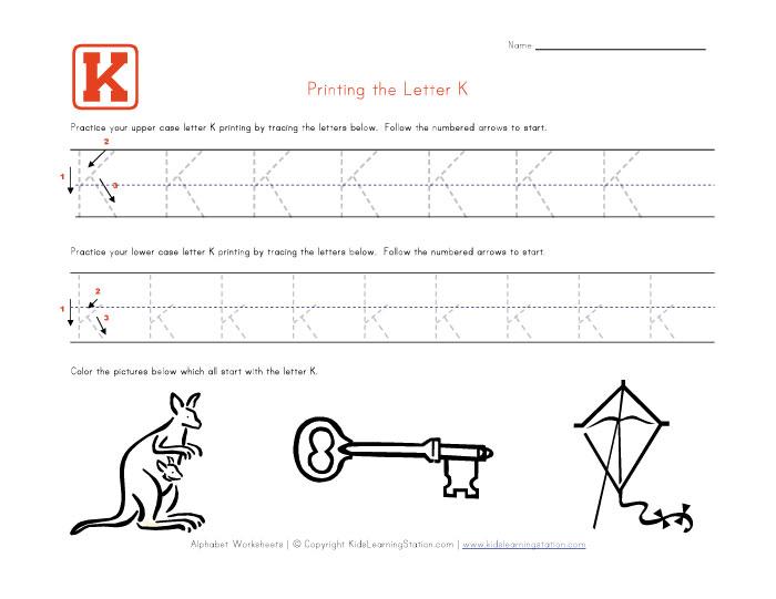 Common Worksheets » Alphabet Traceable - Preschool and ...
