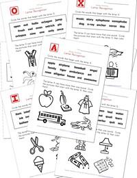 math worksheet : alphabet worksheets for kids  letter recognition  kids learning  : Kindergarten Letter Recognition Worksheets