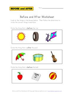 kindergarten worksheets numbers before and after before and after worksheets kids learning. Black Bedroom Furniture Sets. Home Design Ideas
